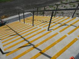 yellow outdoor non slip stair treads non slip stair treads exterior non slip stair treads