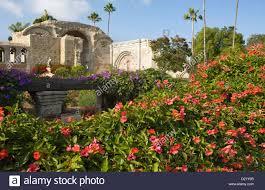 botanical gardens orange county flowers garden great stone church ruins mission san juan stock on orange