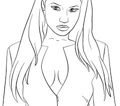Small Picture Nicki Minaj Coloring Pages Best Coloring Pages adresebitkiselcom