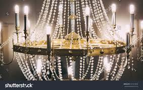 bathroom vintage crystal chandelier details stock photo table lamp valuevintage crystal chandelier