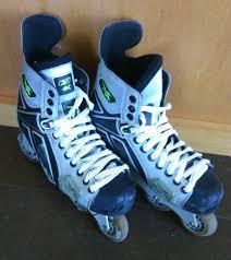 4k Reebok Inline Roller Hockey Skates Size Us 7 5 D Blades