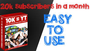How to get 20k subscribers in a month