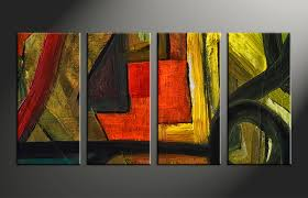 home decor 4 piece photo canvas abstract huge canvas art oil paintings photo on home decor wall art painting with 4 piece canvas abstract colorful oil painting decor