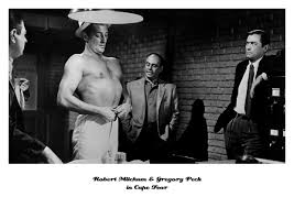 Robert Mitchum & Gregory Peck in Cape Fear