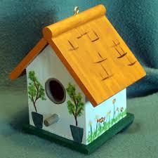 small wood bird houses
