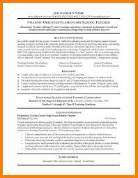 Free Teaching Resume Templates Simple 40 Free Teacher Resume Templates Letmenatalya