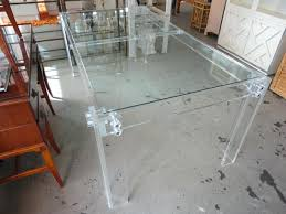 lucite dining table extremely rare and beautiful dining tables awesome vintage rectangular sleek and tidy glass lucite dining table