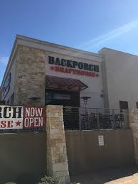 Backporch Drafthouse Temple Restaurant Reviews Phone Number