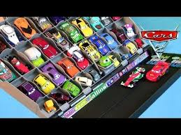 Disney Cars Fan Stand Display Case 100 Disney Cars Fan Stands Play n Display Storage Carry Case YouTube 10