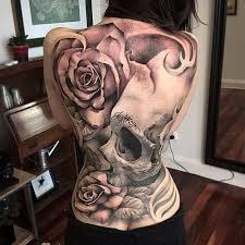 Pěkně Potetovaný Záda Tetováníblogcz
