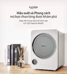 Máy tiệt trùng sấy khô bình sữa UV LED, Haenim BASIC (Haenim 3G LED) – JJ  SHOP