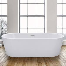 woodbridge 67 acrylic freestanding bathtub contemporary soaking tub