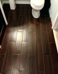 porcelain tile with wood grain look dark brown floor tiles