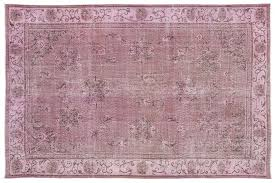 super vintage pink rug turkish overdyed for at pamono