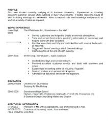 Resume Templates For Students Resume Template Student Simple Resume Format