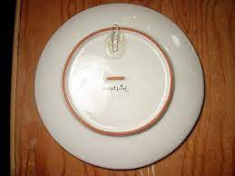 plate hangers plates on wall plate