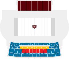 Event Seating Chart Plaster Stadium Missouri State