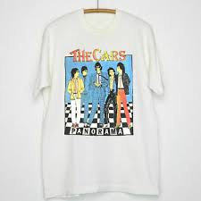 <b>new</b> RARE THE CARS PANORAMA Tour <b>1980</b> TOUR T SHIRT <b>New</b> ...