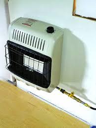 installing a propane heater backwoods