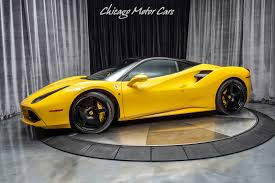 Search from 70 used ferrari 488 spider cars for sale, including a 2017 ferrari 488 spider, a 2018 ferrari 488 spider, and a 2019 ferrari 488 spider. Used 2016 Ferrari 488 Gtb Coupe Hre Wheels Titanium Exhaust Carbon Fiber Loaded For Sale Special Pricing Chicago Motor Cars Stock 18192