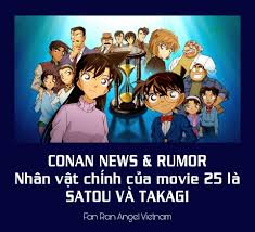 TỔNG HỢP CONAN NEWS VÀ RUMOR] ? Rumor:... - Fan Ran Angel Vietnam