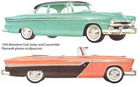 plymouth cars for 1955 a complete turnaround 1955 belvedere cars