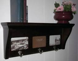 Rustic Wall Coat Rack With Shelf Wall Coat Rack With Shelf Shaker Coat Rack Shelf Wall Mounted Solid 70