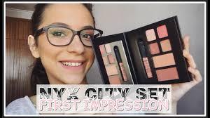 first impression nyx city makeup set