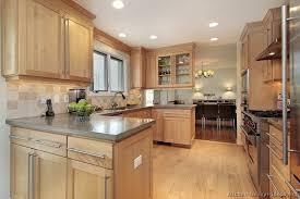 Light Oak Cabinets Kitchen Paint Colors With Wood
