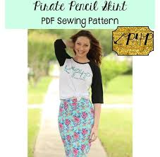 Skirt Patterns New Pirate Pencil Skirt Patterns For Pirates