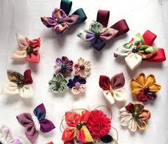 成人式振り袖の髪飾りショートやボブに合うつまみ細工の選び方