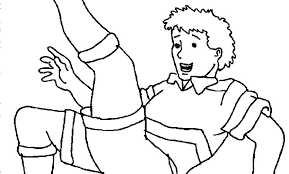 Coloring Coloring Pages Soccer Football Printable Free For Kids