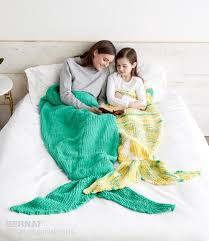 Mermaid Blanket Knitting Pattern