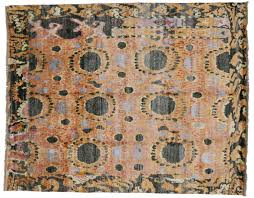 refundable hand knotted rugs from india flooring inspiration by ikat wool area