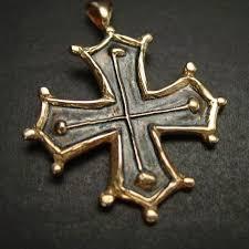 cathar cross occitan cross pendant