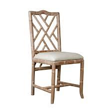 fretwork furniture. bungalow 5 hampton faux bamboo fretwork side chair in natural furniture