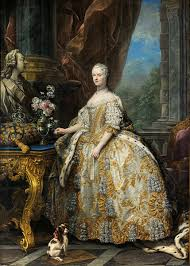 french elegance how did women dress in the th century  marie leszczinska queen of 1703 1768 charles andre van