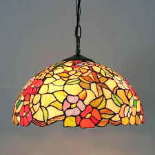 style stained glass flower dining room light fixtures perfect outdoor lighting outside lights stained glass hanging style pendant light lamp outdoor