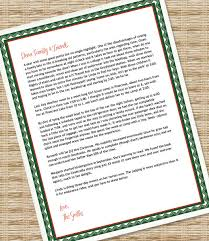 Printable Christmas Letter Paper Microsoft Word Template