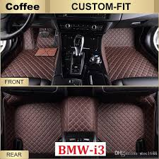scot custom fits car floor mats for bmw i3 2016 2017 all weather waterproof anti slip 3d front rear carpets right hand driver model canada 2019 from