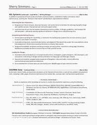 Resume Header Format Original Resume Header Template Professional