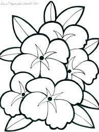 Flower Print Out Flower Print Out Coloring Pages Coloring Pages With