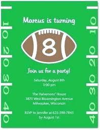 Football Invitation Template Football Invite Template Free Party Invitations Boys Invites Safechoke