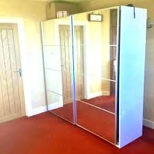 ikea mirror wardrobe wardrobes mirrored white best ideas on dressing door handles