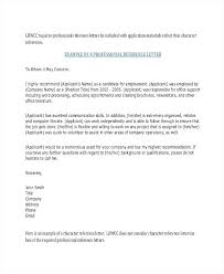 Personal Character Reference Letter Template Mklaw