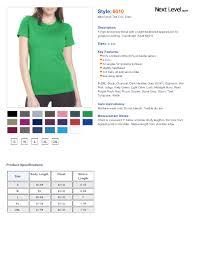 Next Level Shirts 6610 Anlis