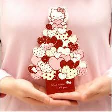 Christmas Birthday Party Invitations 10 Pcs Lot Hello Kitty Christmas Birthday Party Hard Paper