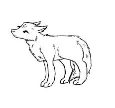 baby wolf drawing. Delighful Wolf Easy Baby Wolf Drawing  Photo17 For Baby Wolf Drawing I