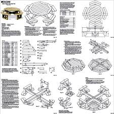 full size of furniture wonderful round picnic table plans 25 jpg uid f7f9f48a 043e 4680 9640