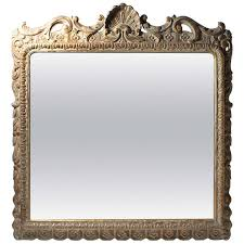 Antique Mirror Frames Large Beautiful Italian Hand Carved Vintage